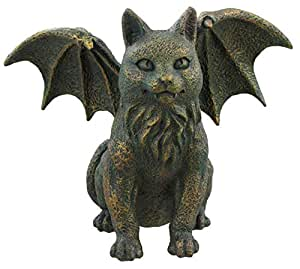 cat gargoyle ornament