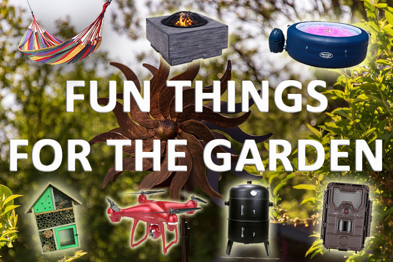 Fun things for the garden