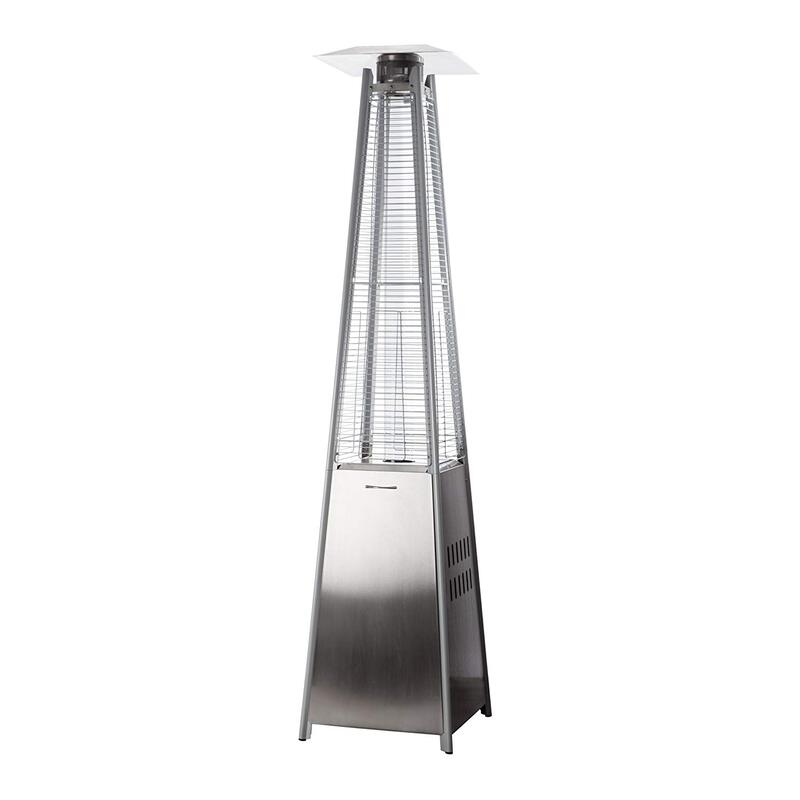 Garden patio heater gadget