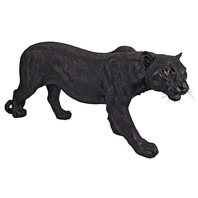 panther garden ornament