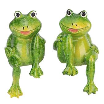 fun frogs trio ornament