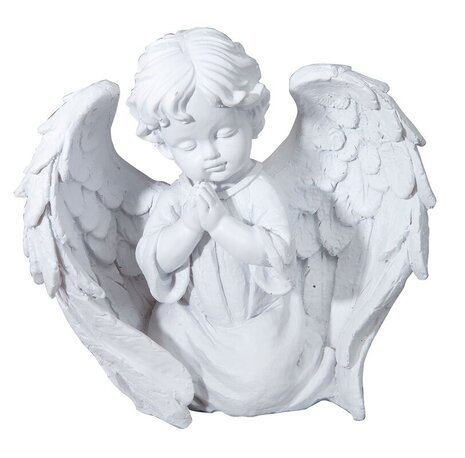 Child angel garden statue