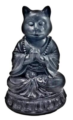 budda cat ornament