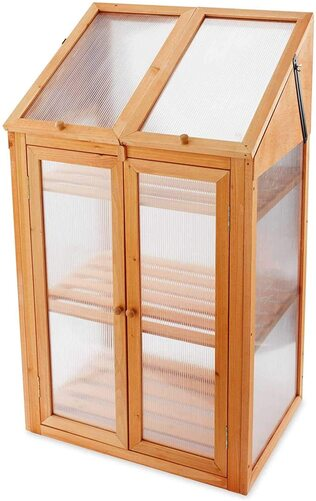 Cupboard cold frame