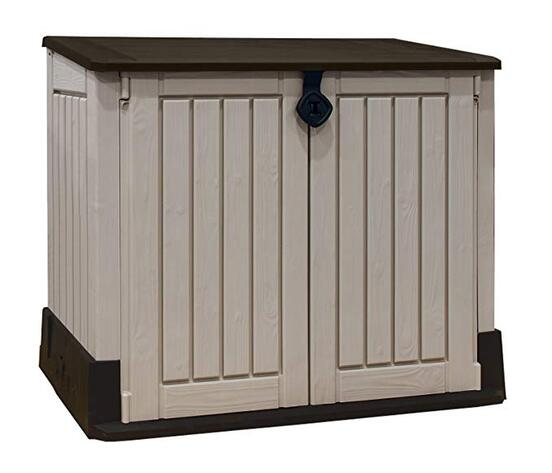 garden tool storage shed
