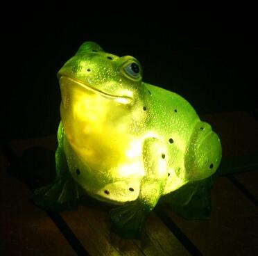 Illuminated garden ornament