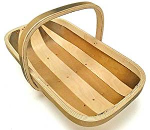 allotment harvesting basket trug